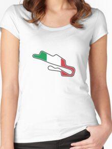 Mugello Circuit Women's Fitted Scoop T-Shirt