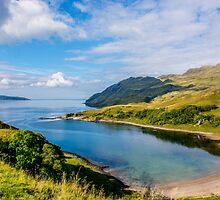 Camas nan Geall 2 Ardnamurchan Scotland by Chris Thaxter