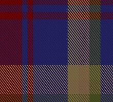 00497 Maple Leaf Blue Tartan by Detnecs2013