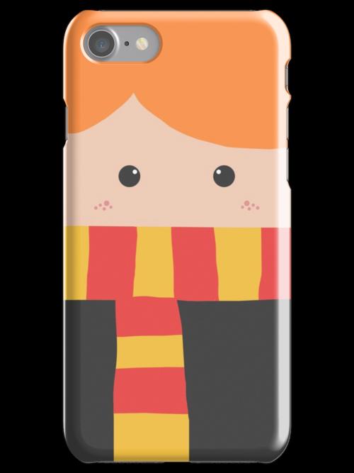 Ron Weasley Iphone Case by Mhaddie