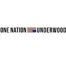 One Nation. Underwood. by pitalovesyou