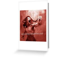 Dio- ablo - The Devil you know Greeting Card