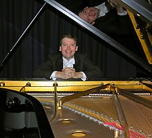 The concert pianist. by Philip Mitchell