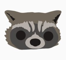 Raccoon Face Kids Clothes