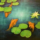 Goldfish Pond by Birgit Schnapp