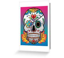 Sugar Skull 3 Greeting Card
