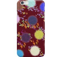 Fluffy Flowers iPhone Case/Skin