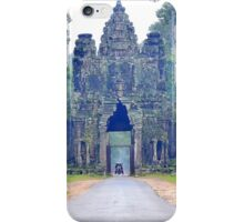 Entrance gate to Angkor Wat iPhone Case/Skin