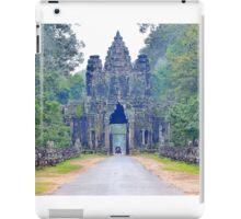 Entrance gate to Angkor Wat iPad Case/Skin