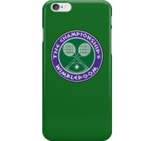 WIMBLEDOOM 2015 iPhone Case/Skin