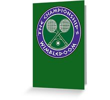 WIMBLEDOOM 2015 Greeting Card