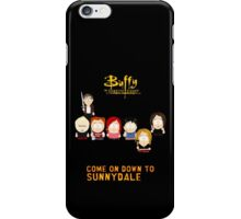 Buffy the Vampire Slayer as South Park iPhone Case/Skin