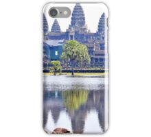 Angkor Wat Temple in Cambodia iPhone Case/Skin