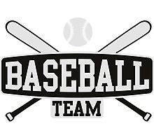 Baseball Team Photographic Print