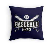 Baseball Team Throw Pillow