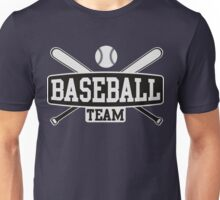 Baseball Team Unisex T-Shirt