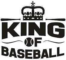 King of baseball Photographic Print