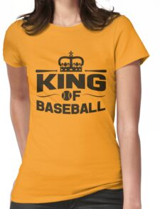 King of baseball Womens Fitted T-Shirt