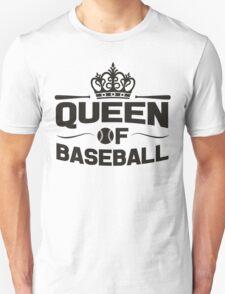 Queen of baseball Unisex T-Shirt