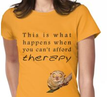Therapy Womens Fitted T-Shirt