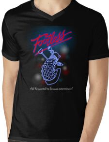 Footless - All he wanted to do was exterminate! Mens V-Neck T-Shirt