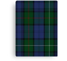 00494 MacKenzie Bailey Clan Tartan  Canvas Print