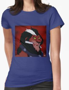 Scar the Demon Barber of Fleet Street Womens Fitted T-Shirt