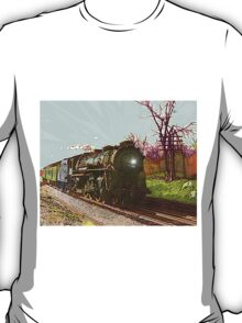 Train 558 Eastbound through Ashland T-Shirt