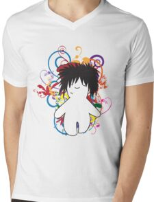 Looking for Color Mens V-Neck T-Shirt