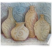 assorted vases Poster