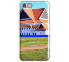 Cambodian girl on a bicycle iPhone Case/Skin