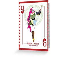 Great Fairy - Hylian Court Legend of Zelda Greeting Card