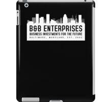 The Wire - B&B Enterprises - White iPad Case/Skin