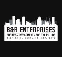 The Wire - B&B Enterprises - White by garudoh