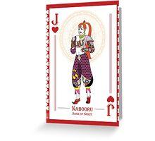 Nabooru - Hylian Court Legend of Zelda Greeting Card