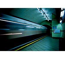 Gotham Train Photographic Print
