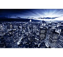 Blue York Photographic Print
