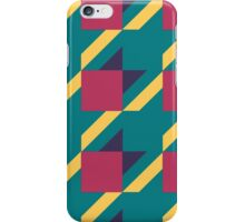 Colored Houndstooth. iPhone Case/Skin