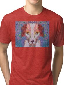 THE DOG THAT WORRIED THE CAT Tri-blend T-Shirt