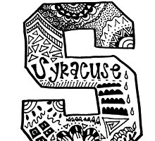 Hipster Syracuse Outline by alexavec