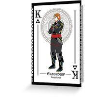 Ganondorf - Hylian Court Legend of Zelda Greeting Card