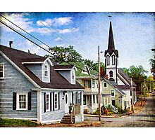 Lunenburg, Nova Scotia Photographic Print