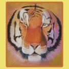 Tiger Tshirt by Andy  Housham