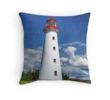 Point Prim Lighthouse, PEI Throw Pillow