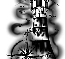 Lighthouse by feelgoodink