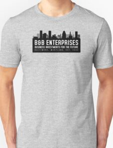 The Wire - B&B Enterprises - Black T-Shirt