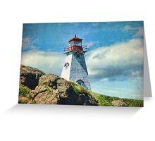 Boar's Head Lighthouse, Nova Scotia Greeting Card