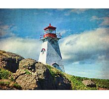 Boar's Head Lighthouse, Nova Scotia Photographic Print