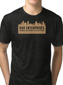 The Wire - B&B Enterprises - Brown Tri-blend T-Shirt