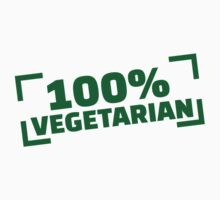100% Vegetarian by Designzz
